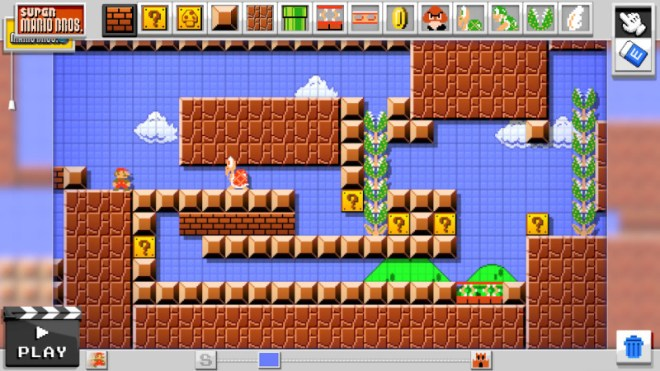 Super Mario Maker: Teaching budding level designers how to troll their friends since 2015