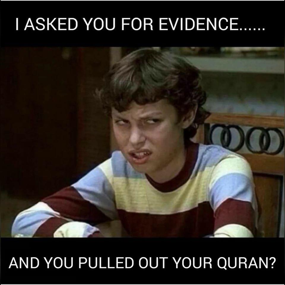 satire scientific errors in Quran evidence