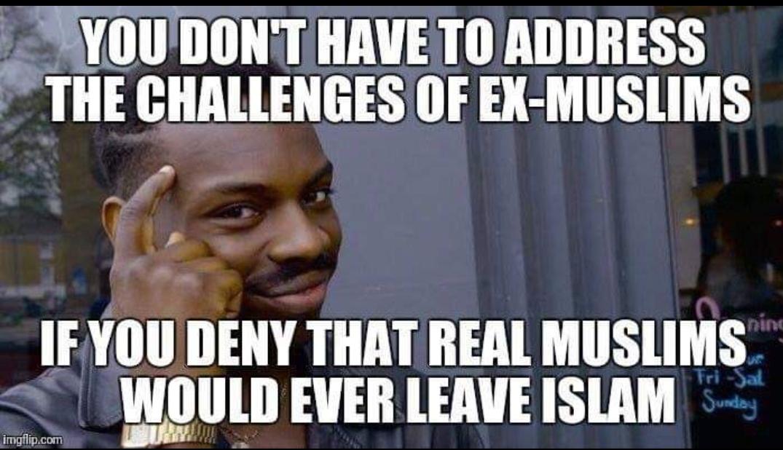 logic ex-muslim ex-muslims exmuslim exmuslms real muslim leave islam leaving twisted