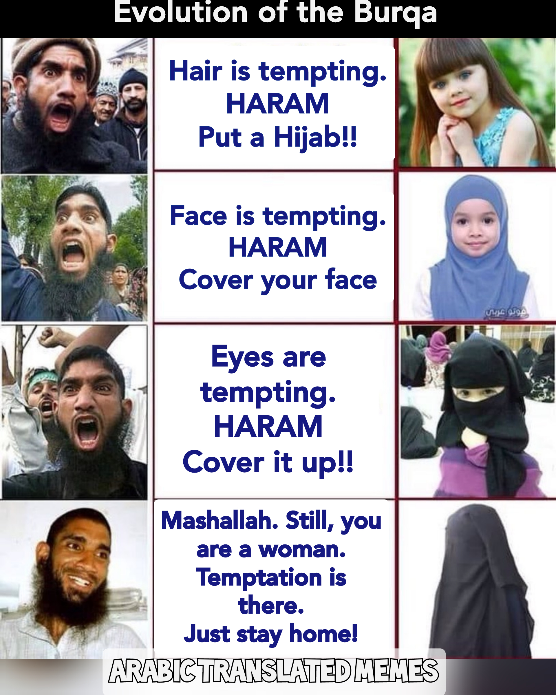 Showing face in Islam
