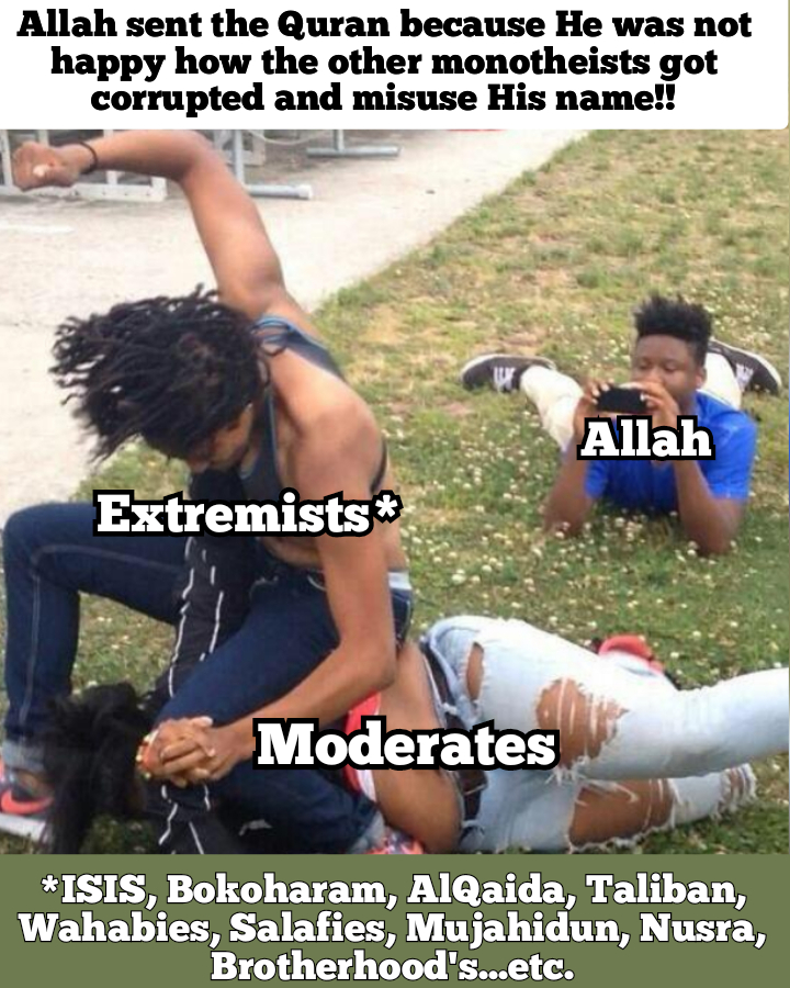 Inner wars ISIS extremists Allah