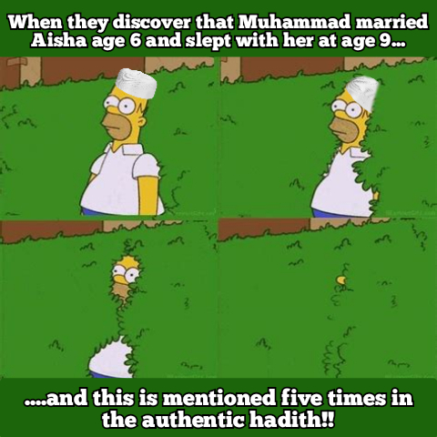 Under age marriage in Islam