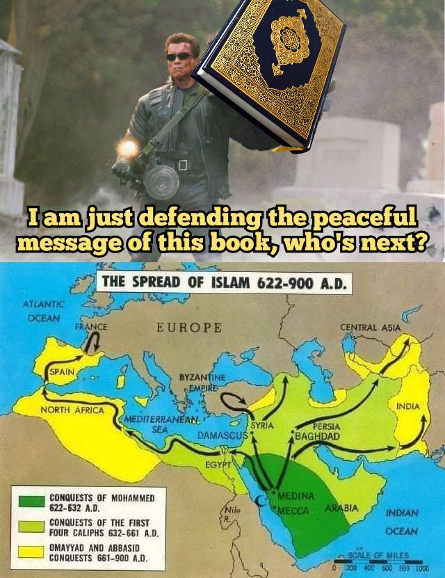 Islam spread peacefully