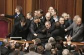 185429-pro-government-deputies-scuffle-with-opposition-deputies-in-parliament