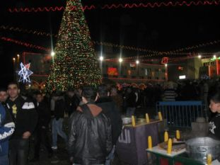 02. New Years Eve on Manger Square