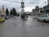 18. normally a busy street in front of Deheisha camp