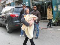 07. bearing her child