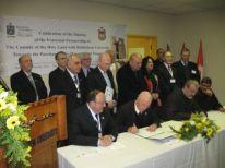 08. the ceremony of signing partnership Custody and University