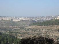 17. Gilo settlement opposite to Cremisan