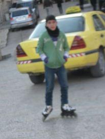 17. Yousef on skeelers