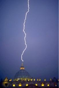 26. lightning above St Peter