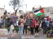 07. a demonstration in Bethlehem