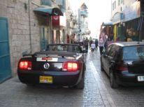 15. a simple Iraeli car in Bethlehem