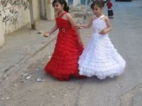 21. two girls in nice clothes
