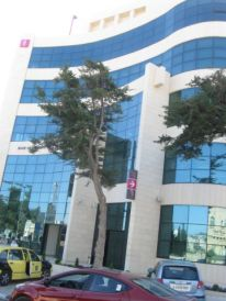 01. who paid for this new building near Al Azza camp of Palestine Bank