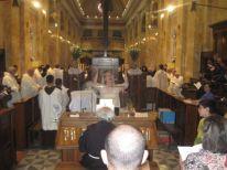 30. celebration for feast Saint Antony in renovated San Saviour Church