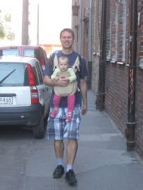 16. my young friend Michal and his daughter Pola
