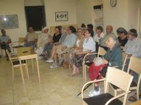 02. people for the movie Besa, in front Hadassah