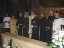 25. the five solemn professed friars