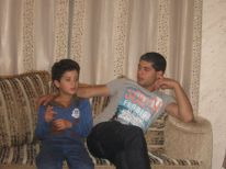 08. Mohanad and cousin fro