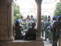 10. pilgrims from Nigeria