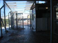 06. entrance to the checkpoi