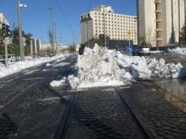 14. stored snow
