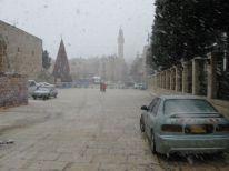 18. snowing