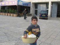29. a young seller boy
