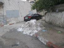 09. stil snow in Ramallah last Monday