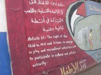 13. a right of children near Aida camp