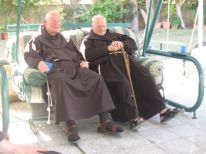 15. two oldest friars from Italy