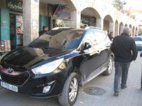 17. a Palestinian car