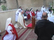 01. Feast of Corpus Christi at the sisters in the Milk Grotto street
