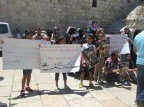 17. demonstration near Nativity church