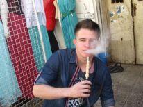 10. smoking arguile