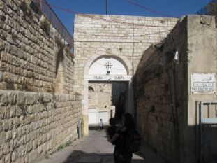 01. entrance of our monastery inthe old city