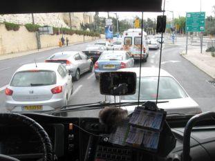 02. a crossing car