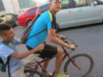 21. boys on a bike