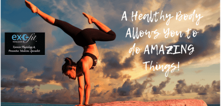 A Healthy Body Allows You to do AMAZING Things!2