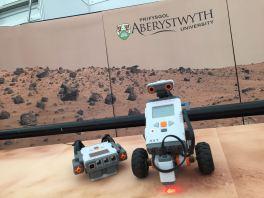 Roboteg Lego Mindstorm yn Eisteddfod Genedlaethol Cymru 2015