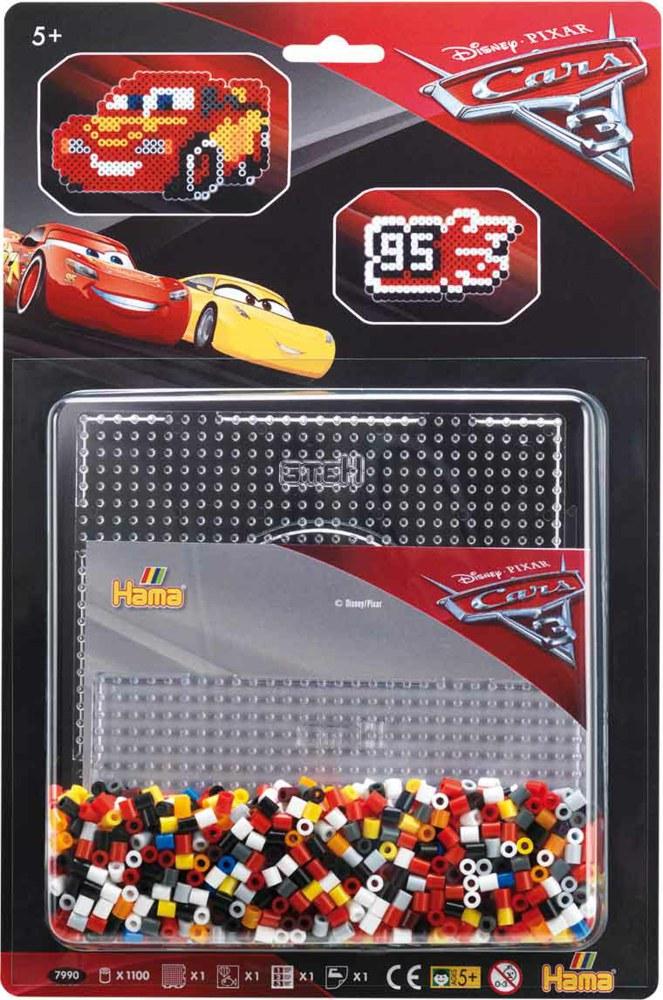 Lightning Mcqueen From Cars Done In Perler Beads
