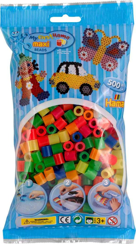 Hama Maxi 8218 0028178821883 Maxi Perlen Stiftplatten