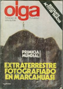 Marcahuasi ET OIGA 16 de agosto 82'