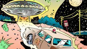Artist Tells of Nebraska UFO Story in Comic Book