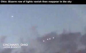 UFO Sightings Reported Over Cincinnati as Mystery Lights Filmed