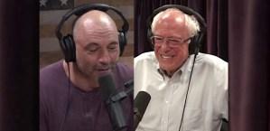 Joe Rogan and Bernie Sanders Tackle the Important Stuff: Aliens
