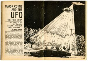 Coyne UFO Incident Over Charles Mill Lake, Ohio 1973