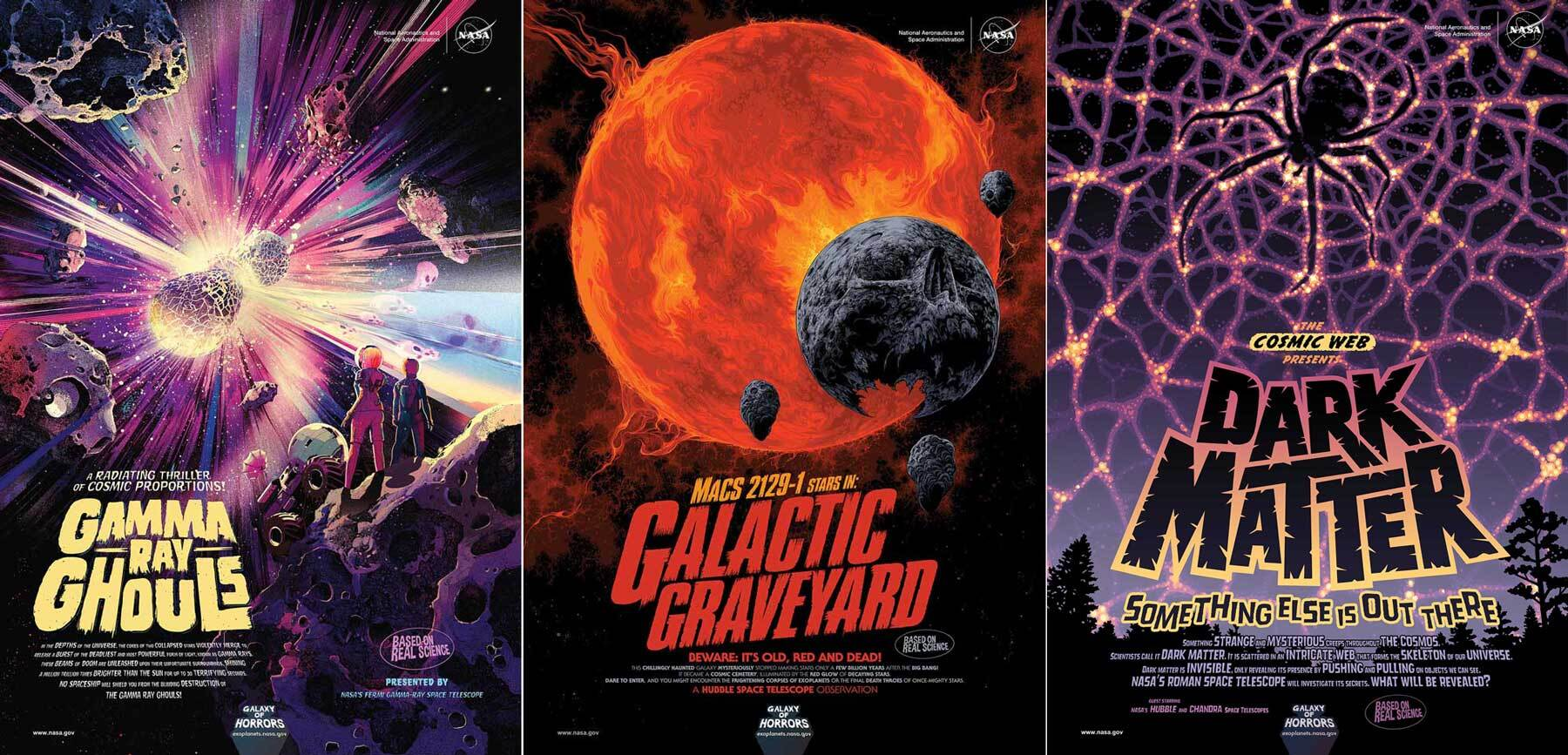 new nasa posters feature cosmic frights