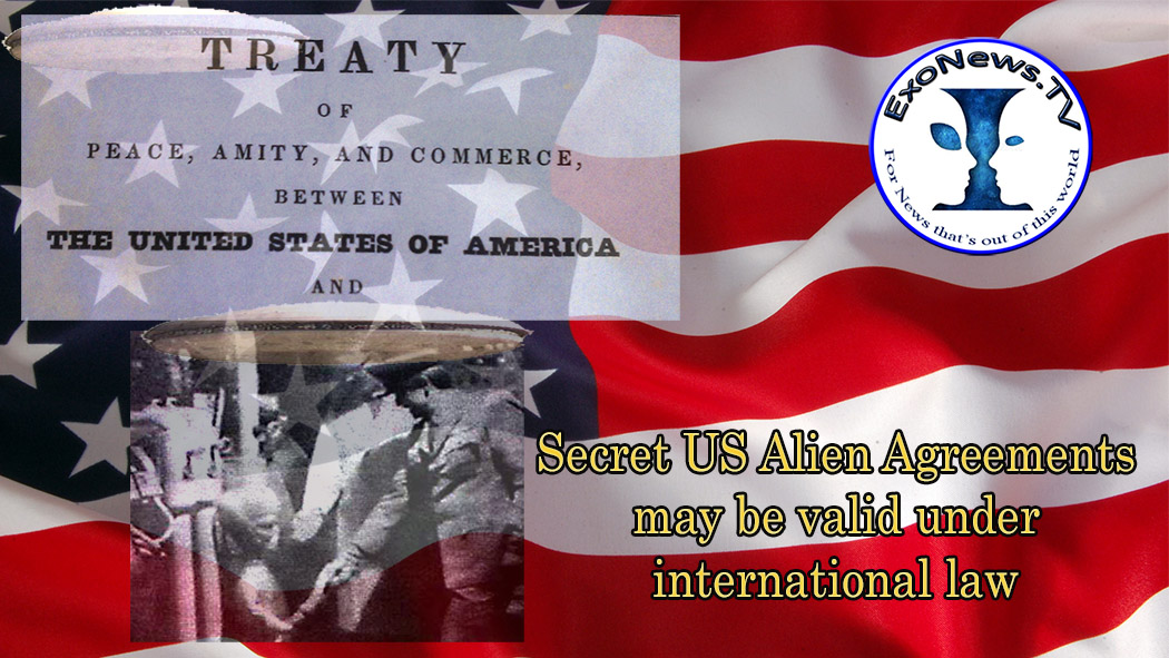 Secret Us Alien Agreements May Be Valid Under International Law